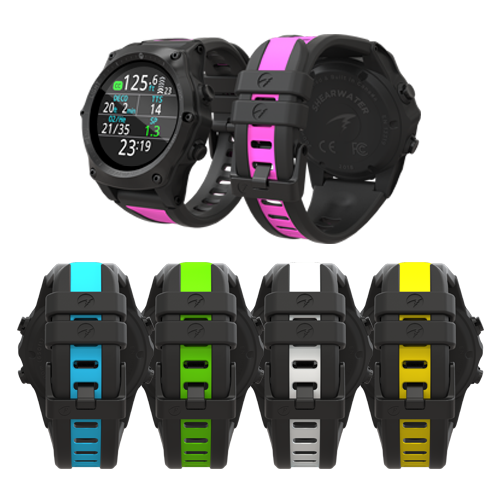 Multiple Colour Straps